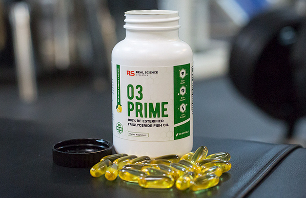O3 Prime softgels