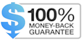 NO HASSLE MONEY-BACK GUARANTEE